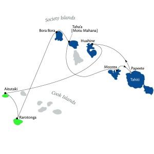 ポール・ゴーギャン クック諸島とソシエテ諸島 11泊12日
