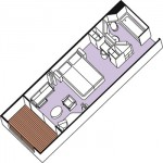 VerandaStateroom 3D-image