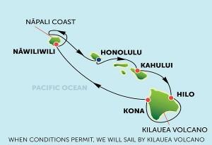 プライドオブアメリカ ハワイ周遊 7泊